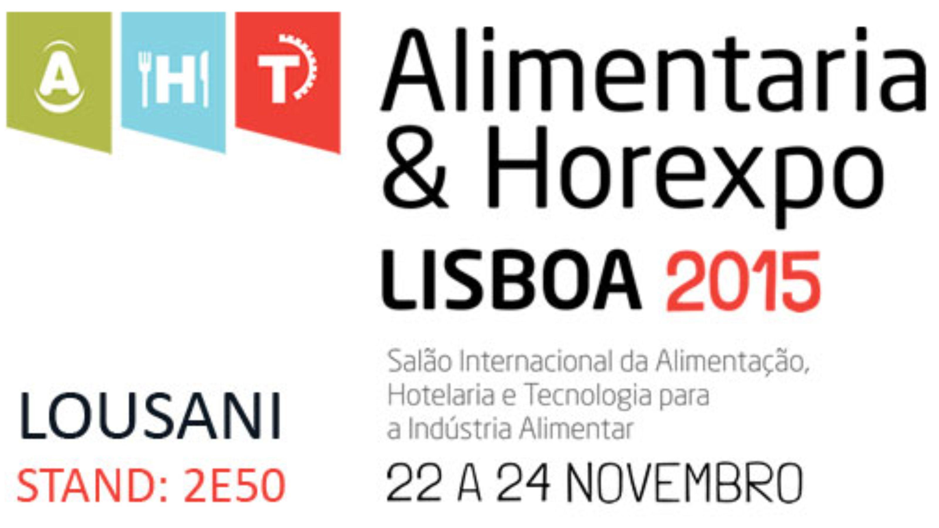 Presença na Feira Alimentaria & Horexpo 2015