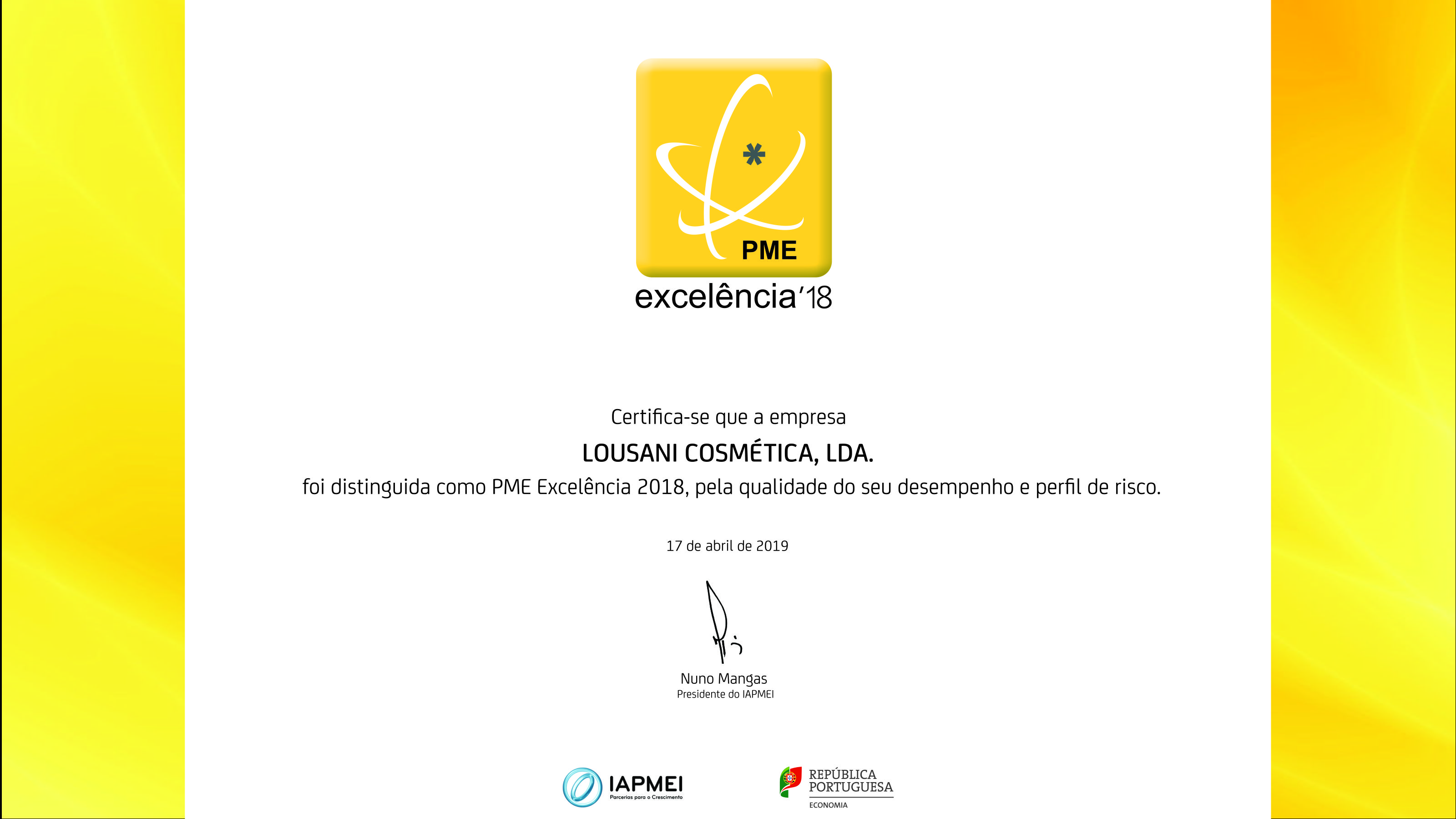 Galardão PME Líder 2018